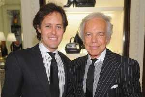 David and Ralph Lauren