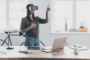 VR at home or at work