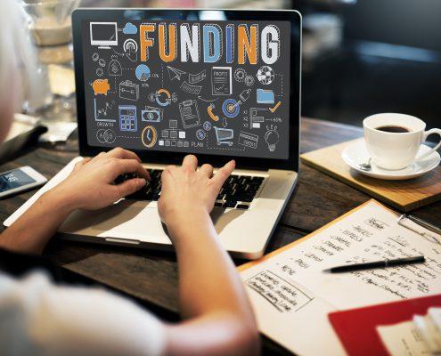 Funding through cryptocurrencies
