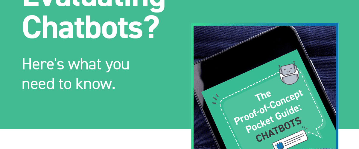 The prooV Pocket Guide to Proof-of-Concepts Chatbots